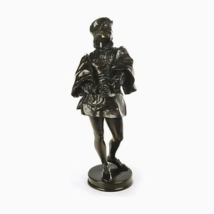 Bronze Gringoire Skulptur von Paul Filhastre