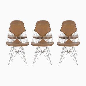 DKR Draht Bikini Stühle von Charles & Ray Eames für Herman Miller, 1960er, 6er Set