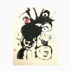 Joan Miro, Espriu, 1975, Radierung