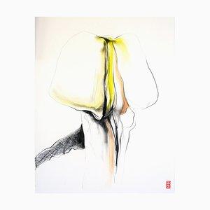 Mari Hofman, Untitled #1 from the Series Mushrooms, 2020, Painting