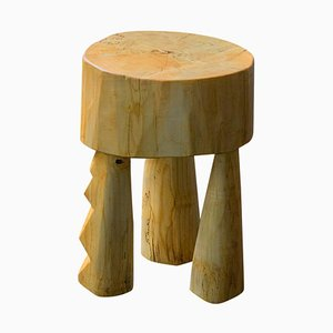 Ashanti Sculpted Stool by Vince Skelly