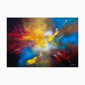 Giancarlo Foglietta, Lights in the Sky, 2009, Original Mixed Media Painting