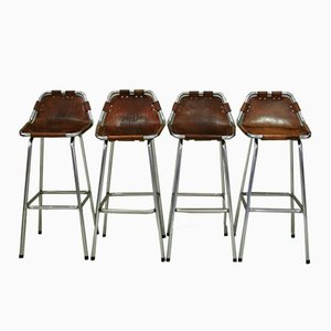 French Barstools by Charlotte Perriand, Set of 4