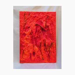 Giancarlo Foglietta, Red Magma, 2009, Original Mixed Media