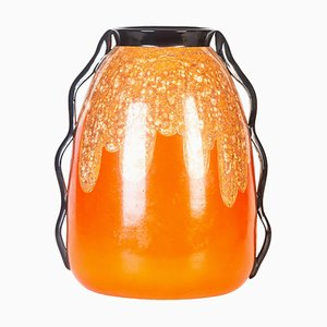Vintage Ceramic Vase from F.A.C.I., 1950s