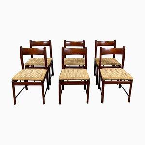 Teak Chairs by Ilmari Tapiovaara for La Permanente Cantù, 1960s, Set of 16