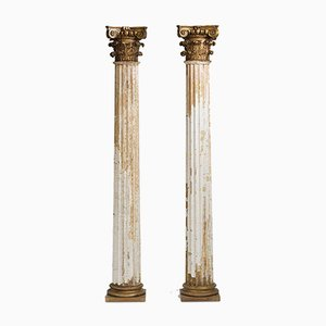19th Century French Columns, Set of 2