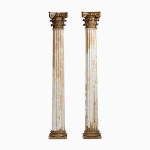 Französische Säulen, 19. Jh., 2er Set