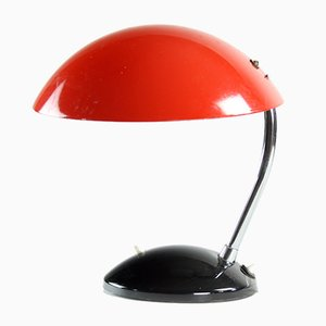 Mid-Century Czech Red 1964/1 Table Lamp from Drukov, 1964
