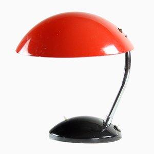 Rote tschechische Mid-Century 1964/1 Tischlampe von Drukov, 1964