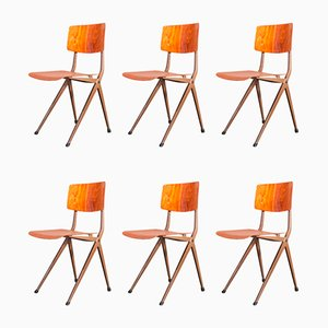 Vintage S201 Dining Chairs by Ynske Kooistra for Marko, 1960s, Set of 6