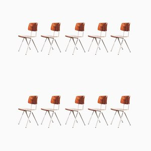 Vintage S16 Dining Chairs, 1950s, Set of 11