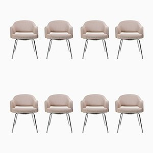 Saarinen Dining Chairs by Eero Saarinen for Knoll Inc. / Knoll International, 1940s, Set of 8