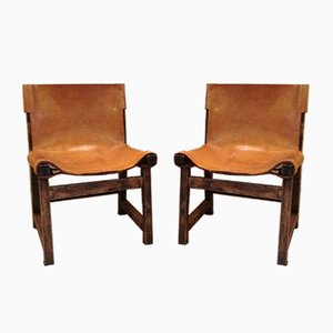 Mid-Century Side Chairs by Paco Muñoz for Darro, Set of 2