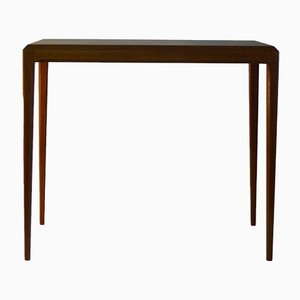 Danish Minimalist Teak Coffee Table by Johannes Andersen for CFC Silkeborg, 1960s
