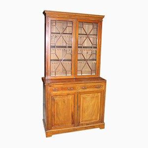 Antique Edwardian Mahogany Chiffoniere Bookcase