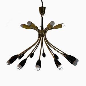 Mid-Century Italian Ceiling Lamp, 1950s