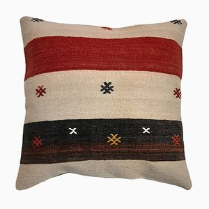 Mid-Century Turkish Kilim Cushion