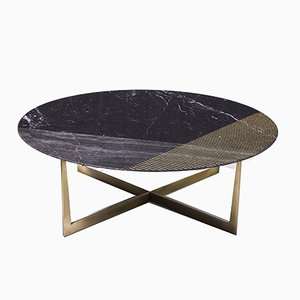 Gold Radius Nm-Bs-G-100 Coffee Table from Alex Mint
