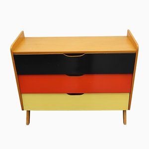 Mid-Century German Shoe Cabinet from Ilse Möbel, 1950s