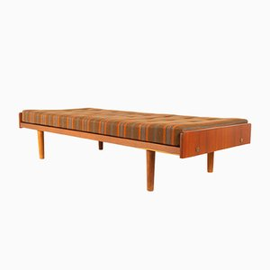 Vintage Danish Teak Daybed by Ejvind Johansson for FDB, 1962
