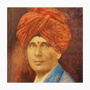Indisches Vintage Portrait