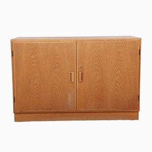 Furnished Oak Cabinet by Børge Mogensen for Søborg Møbelfabrik, 1960s