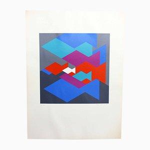 Max Schmid, Aquarium, Print, 1973