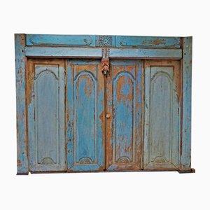 Geschnitzte balinesische Mid-Century Türen