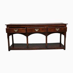 18th Century Walnut Country Dresser