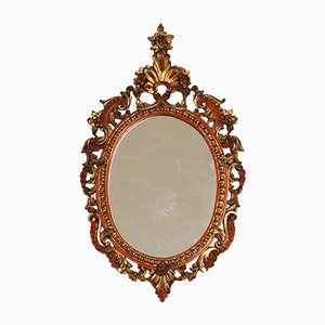 Antique Baroque Style Mirror, 1900s