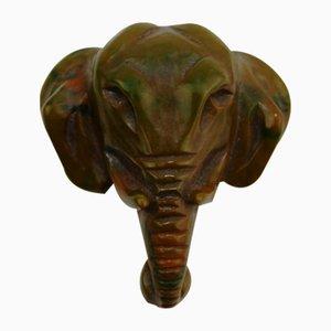 Cut Bakelit Elephant Brosche, 1930er