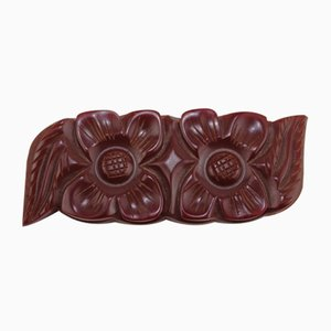 Cut Bakelite Brooch, 1930s