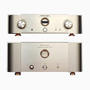 Amplificadores MA 9 S1 / SC7 S1 vintage de Marantz, 1992. Juego de 2