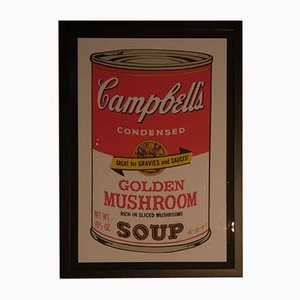 Andy Warhol for Bluegrass, Campbell's Golden Mushroom, 1989, Lithography