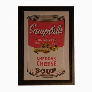 Fromage Cheddar Campbell d'Andy Warhol pour Bluegrass, 1989, Lithographie