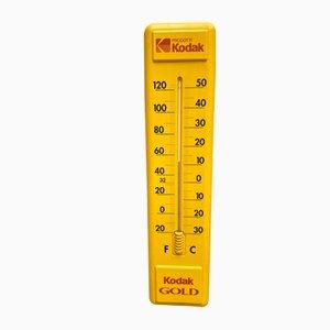 Termometro da parete vintage pubblicitario di Kodak, anni '80