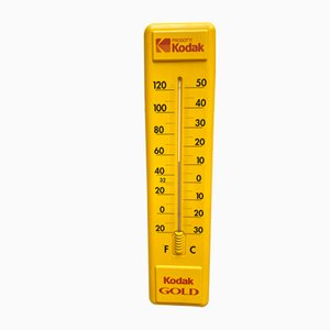 Vintage Advertising Wall Thermometer from Kodak, 1980s