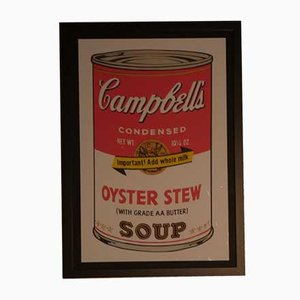 Andy Warhol pour Bluegrass, Campbell's Oyster Stew, 1989, Lithographie