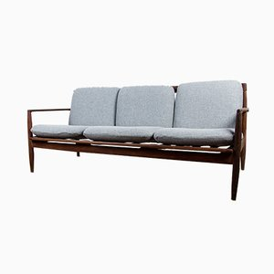 Danish Teak 3-Seater Sofa by Ib Kofod Larsen, 1960s
