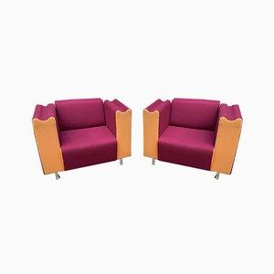 Vintage Sessel von Moroso, 1990er, 2er Set