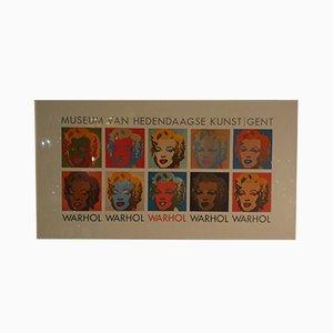 Beeldrecth Amsterdam Ausstellungsposter von Andy Warhol für Art Unlimited, 1989