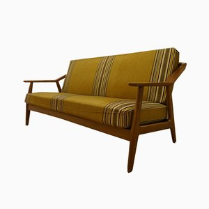 Mid-Century Danish Teak Sofa by Brockmann Petersen for Randers Møbelfabrik