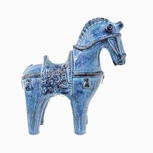 Mid-Century Italian Ceramic Horse by Aldo Londi, 1960s