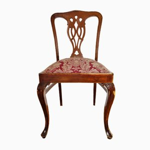 Antique English Mahogany Chippendale Style Dining Chair