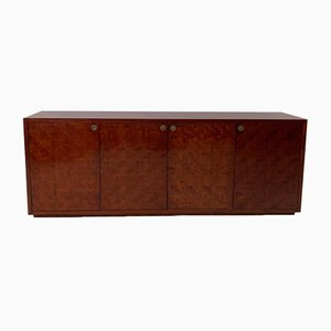 Bamboo Marquetry Sideboard, 1970s