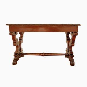 19th Century Biedermeier Style Mahogany Dining Table