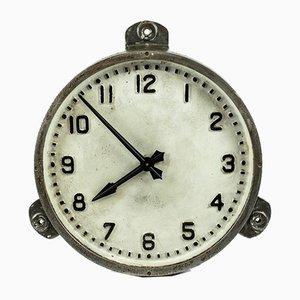 "Grande Horloge d'Usine Vintage Industrielle en Fonte de Gent ""s of Leicester"