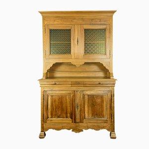 Napoleon III Solid Walnut 2-Body Cupboard