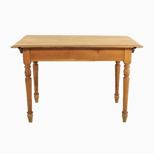 Antique Cherry Wood Dining Table, 1920